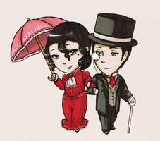 COM: Mr. and Mrs. Archer by Fuugis