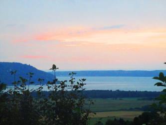 Sunrise on Charlevoix by Qavvikk