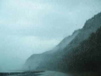 Rain on roadtrip by Qavvikk