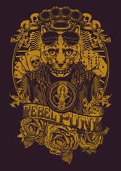 Rebel Punk Tshirt Design