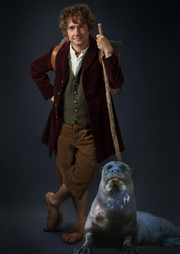 Bilbo Baggins and His Daemon by LJ-Todd