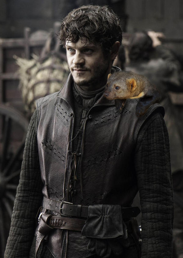 Ramsay Snow Bolton [Iwan Rheon] by masteryue on DeviantArt  |Ramsay Snow Art