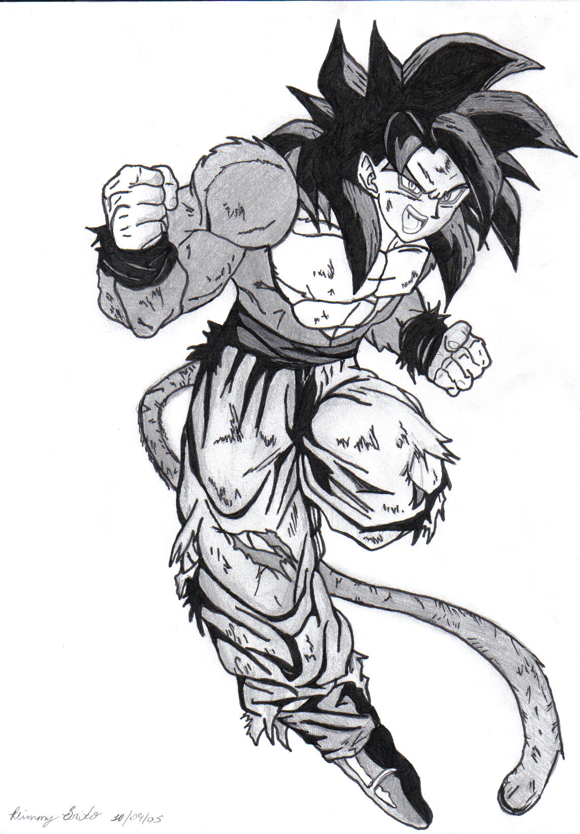 Super Saiyan Goku By Exclusivepikz On Deviantart
