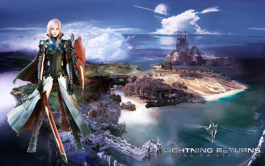 Lightning Returns FF XIII Wallpaper 1920X1200 By Zhenixer