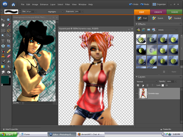 Desktop: IMVU Avis. by Dark-Aerith