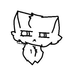Cat lineart, free use