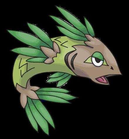Fake Pokemon Pine Fish By Denki Mewten On Deviantart