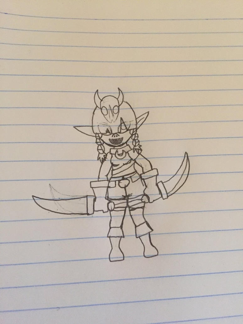 Goblin Girl by zekeybomb2