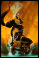 Diablo 3 contest: Witch Doctor by nfouque