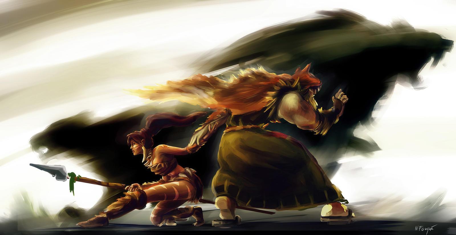League of Legends: Fear the wild by nfouque