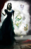 Rena's dark lady by nfouque