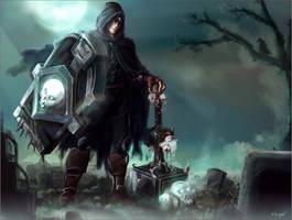 Taric Skulls Gems (Halloween 2012) by nfouque