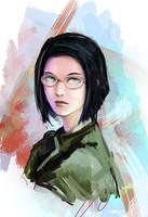 Portrait by nfouque