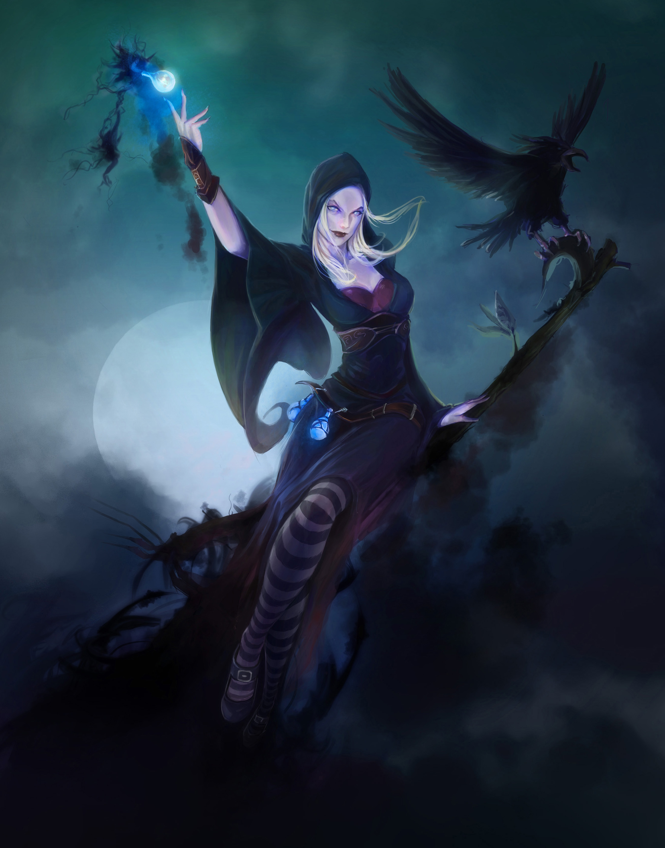 Witch by nfouque