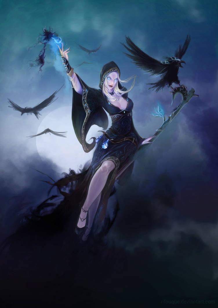 witch evolution