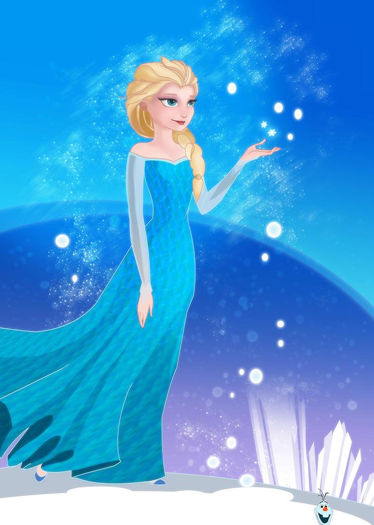 Elsa by nfouque