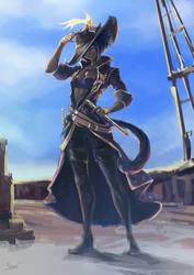 Commission: Captain Ako Rahz by nfouque