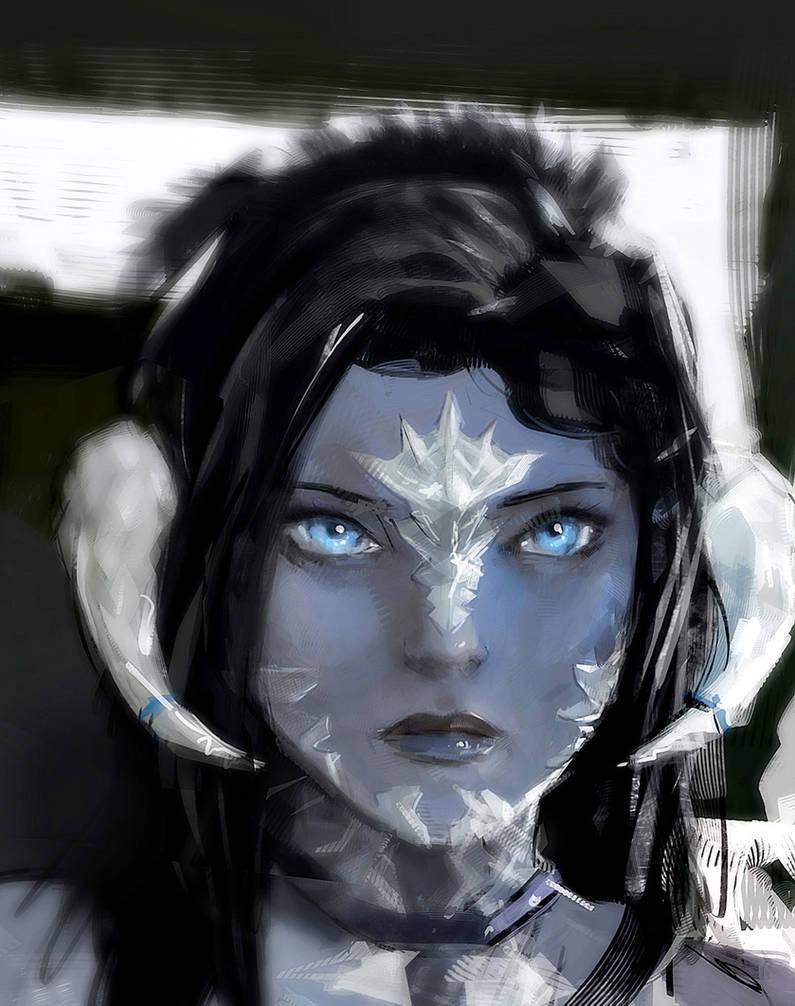 Lyn.A portrait by nfouque