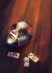 Illustration book: Domino