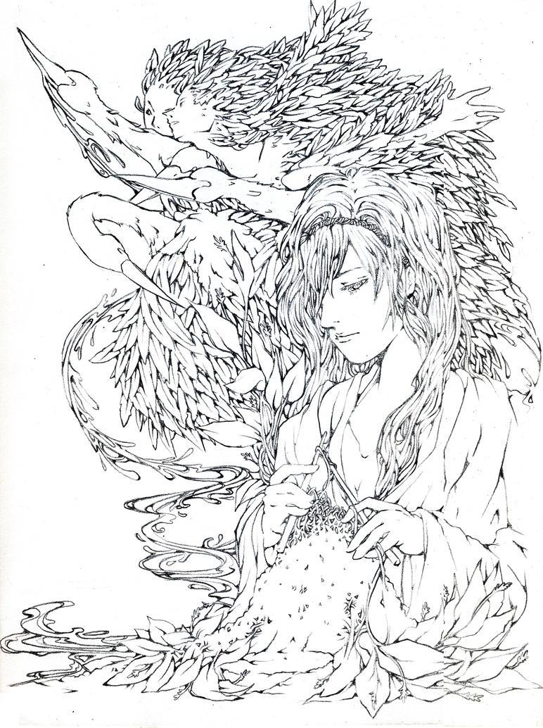 The Six Swans by shirua