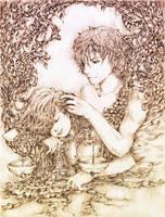 Virgo Loves Libra by shirua