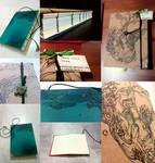 Underwater Handbound Book [SOLD]