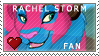 Rachel Storm fan stamp by TwistingFury