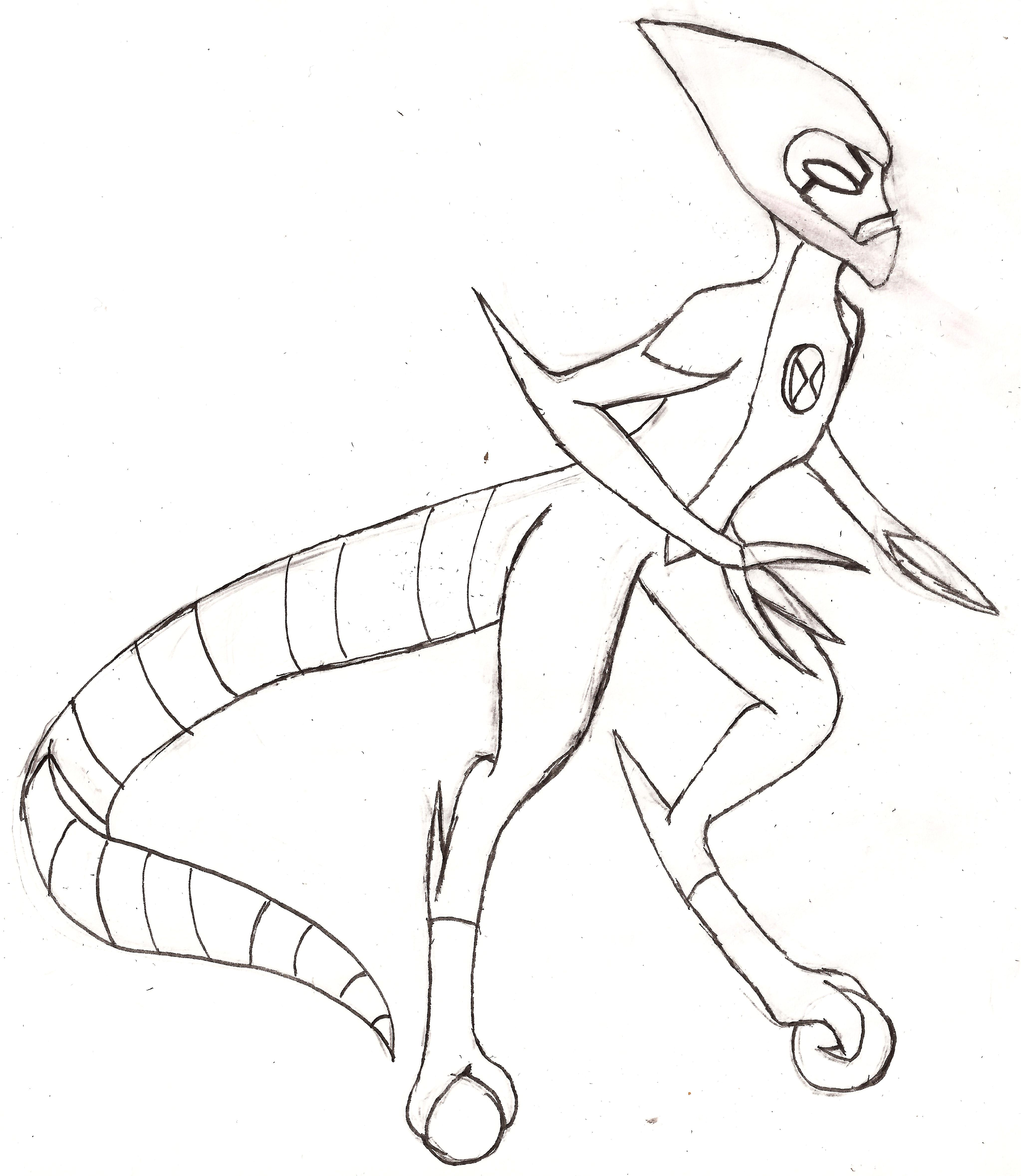 ben 10 fasttrack coloring pages - photo#10