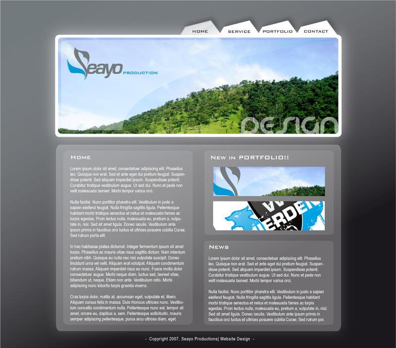 Website Portfolio by seayo