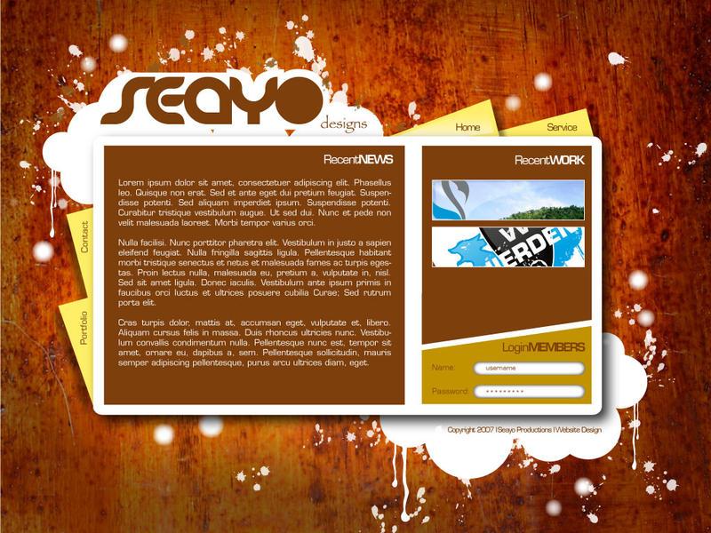 Website Portfolio 2 by seayo