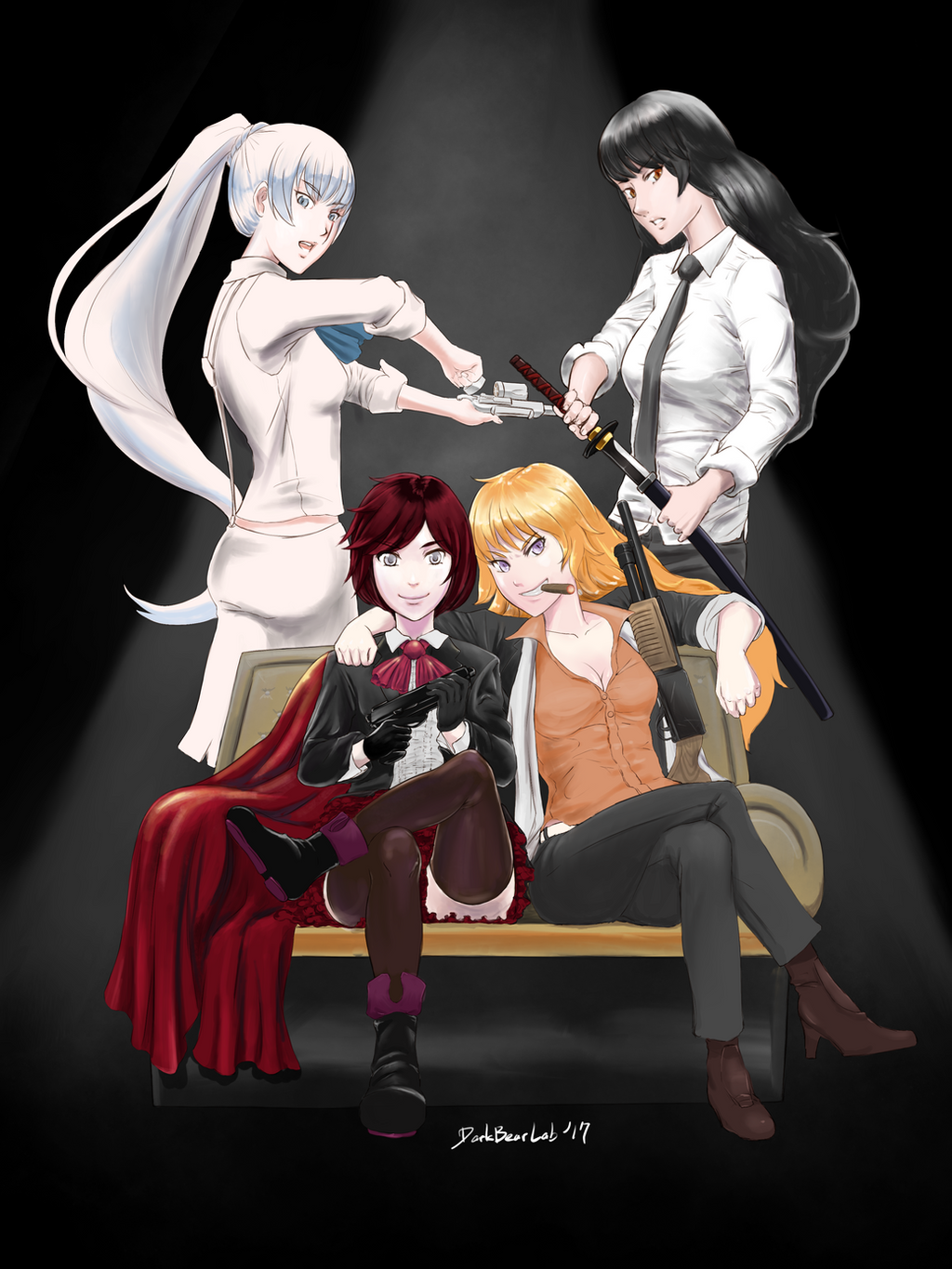 Commission Rwby Gangsta S Paradise In Remnant By