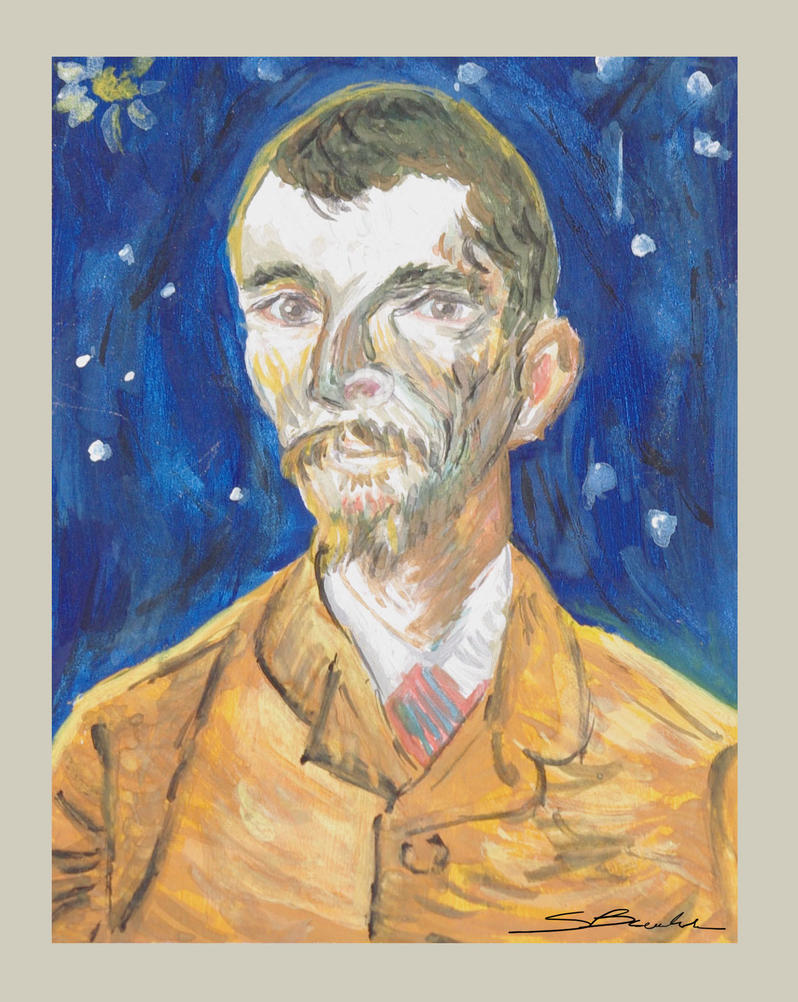 Portrait of Eugene Boch | Vincent