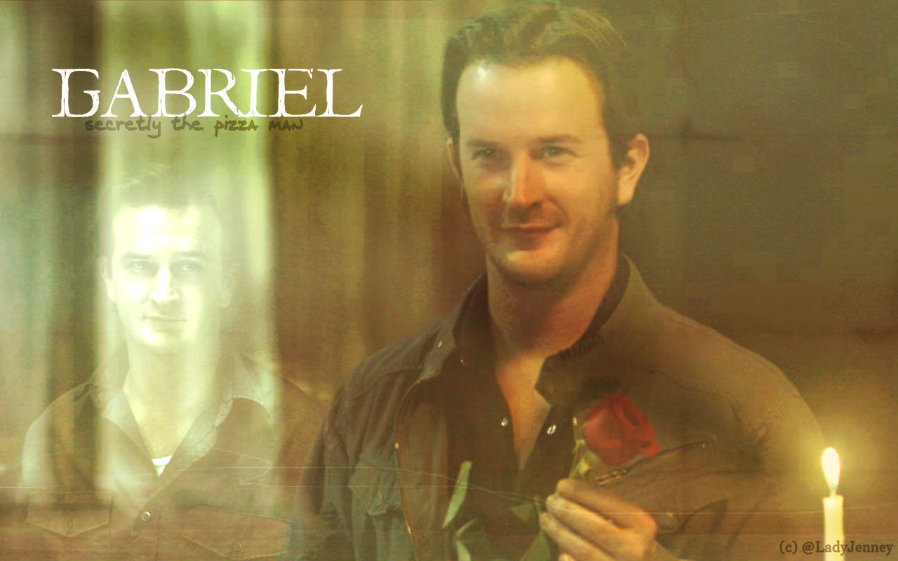 supernatural gabriel and art - photo #20