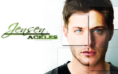 Jensen Ackles Wallpaper- 7 by LadyJenney