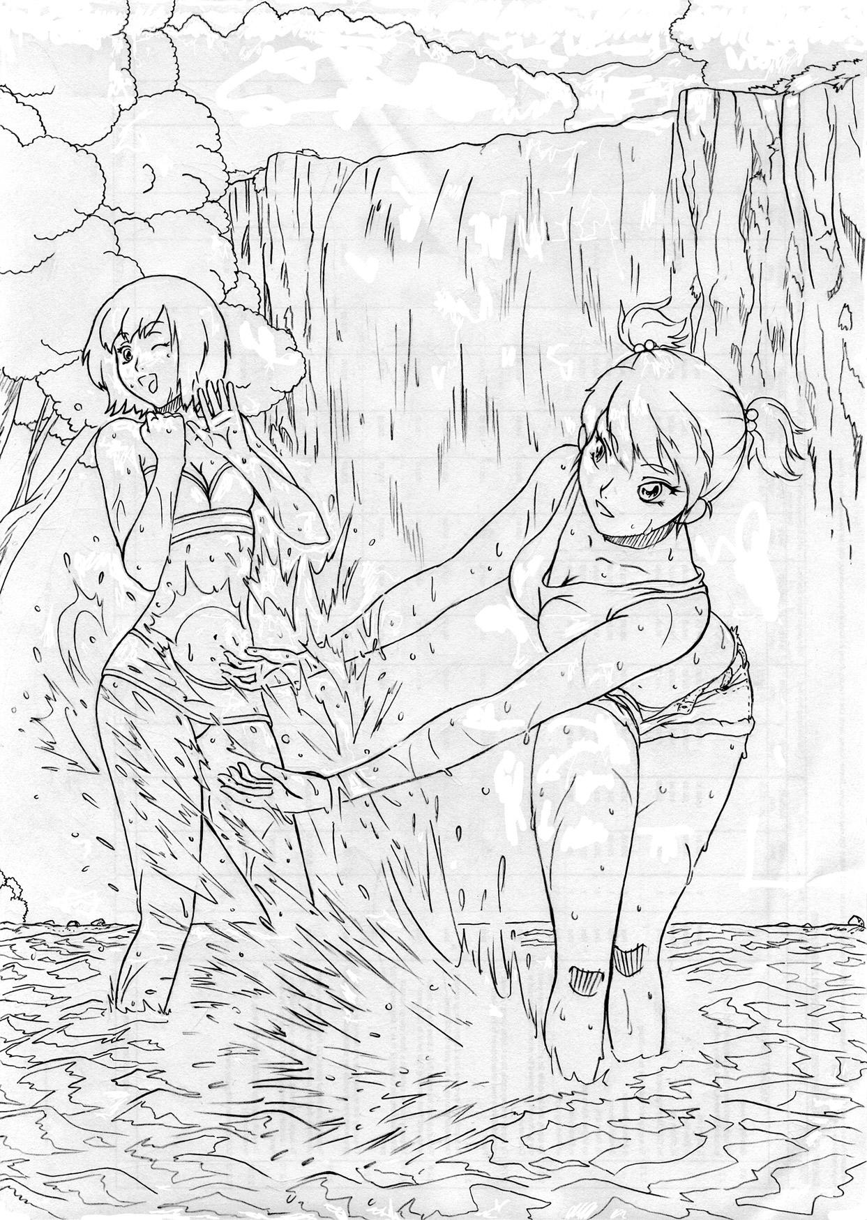 Waterfall Girls by Minikrom