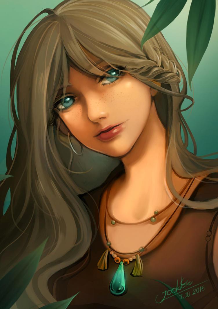Bohemian girl by koaalue