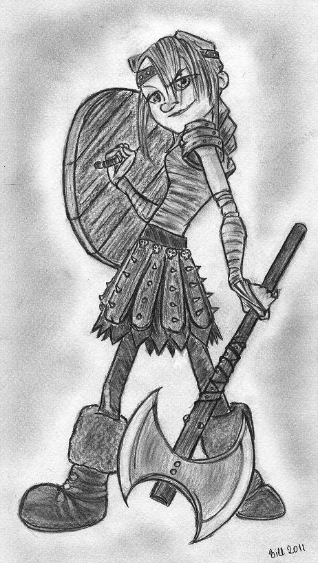 How to train your dragon astrid by bill con on deviantart how to train your dragon astrid by bill con ccuart Gallery