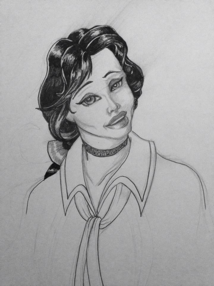 Elizabeth 1 by GabrielleDace