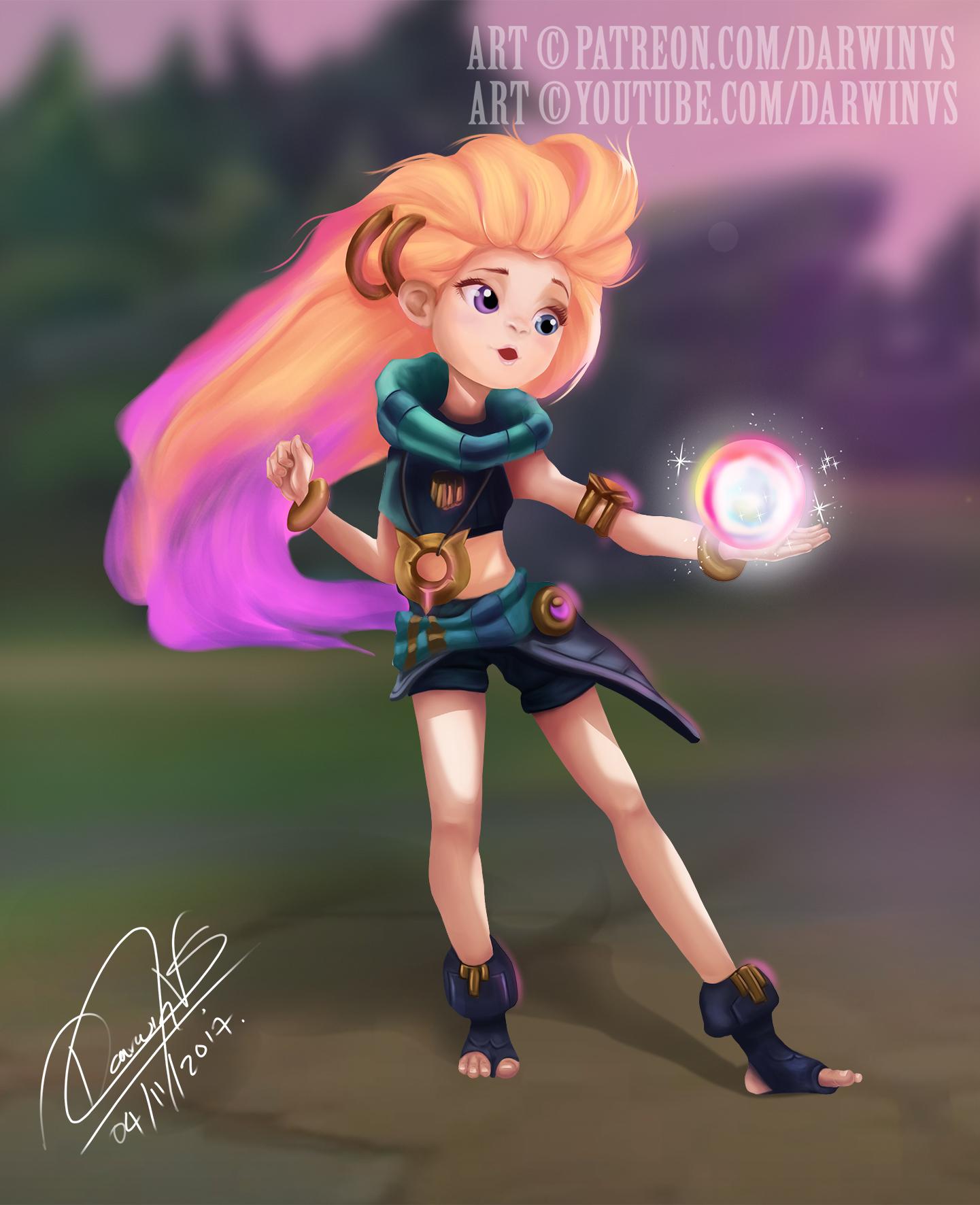 e já tem artes da Zoe na internet! - Fórum da Riot Games