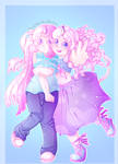 Astra and Clementine! by LumiPop