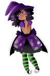 OC Costumes Day Five: Witch by LumiPop