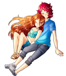 Felix and Ginger by LumiPop