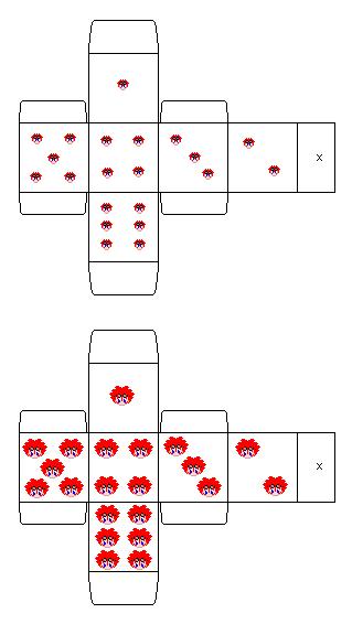 Reno dice by MikariStar