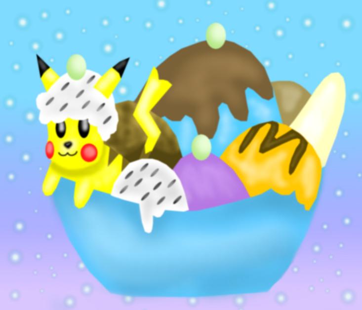Peachy Icecream Flavors 2 by MikariStar