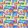 Pixel Pokeball Tileable Background
