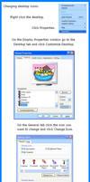 Changing Desktop Icons (tutorial)