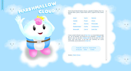 Marshmallow Cloud layout by MikariStar