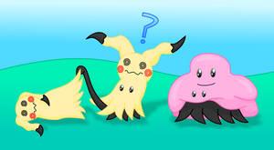Mimikyu Ditto Pokemon by MikariStar