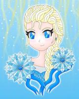 Frozen Elsa by MikariStar