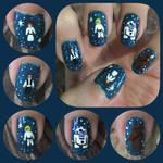 Star Wars Nail Art 1 by MikariStar